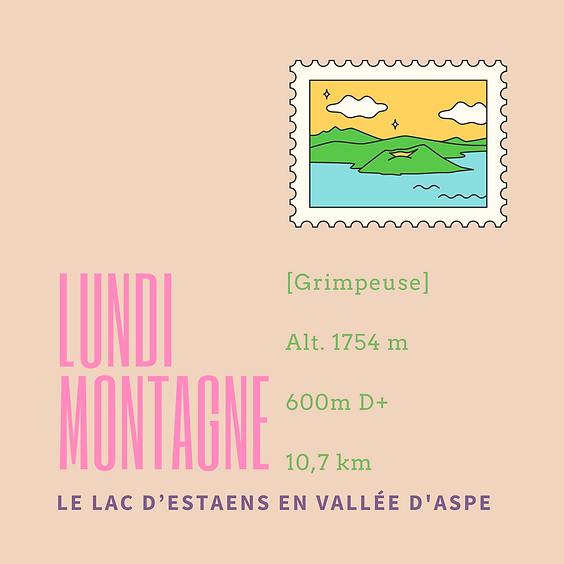 Lundi en montagne : le lac d'Estaens