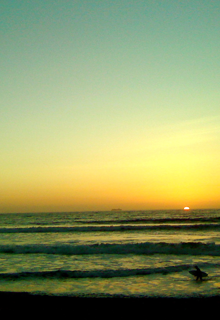 imperial beach sunset (surfer) 7