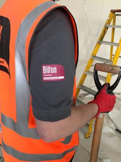 Bilton Brand closeup