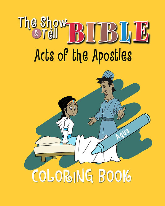Book of Acts - Digital Coloring Book