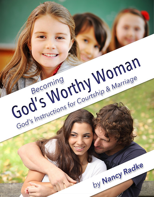 """""""Student Book"""" Becoming God's Worthy Woman"""