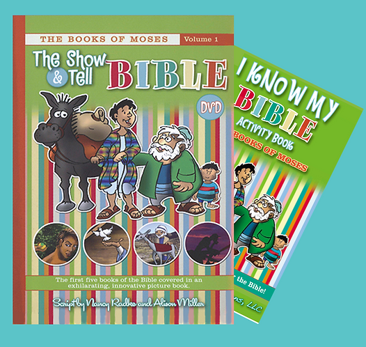 Books of Moses, DVD & Activity Book - Vol. 1