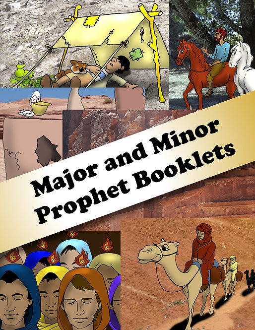 Major and Minor Prophet Booklets