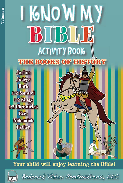 The Books of History Activity Book