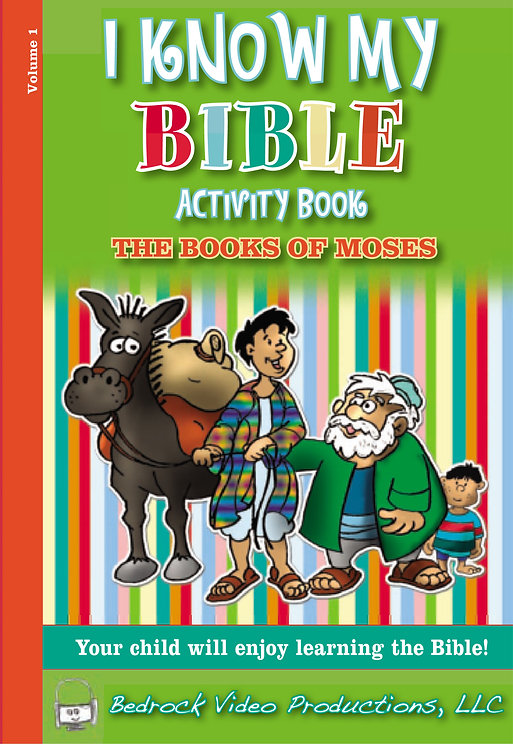 The Books of Moses Activity Book