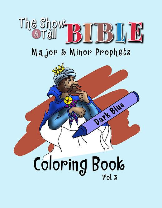 Major & Minor Prophets - Digital Coloring Book