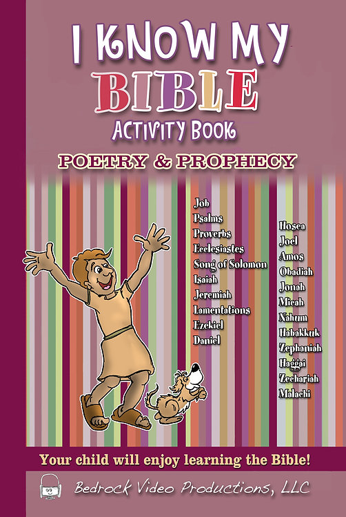 The Poetry & Prophecy Activity Book