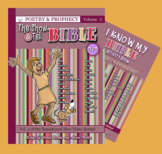 Poetry & Prophecy, DVD & Activity Book - Vol. 3