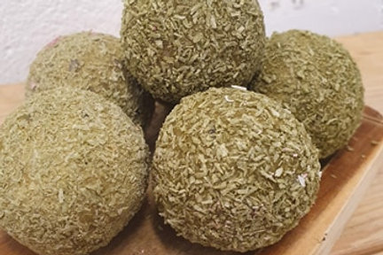 Matcha Passion Protein Ball *Nut Free Opt*
