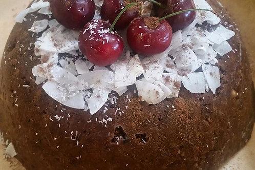 The Finest Festive Pudding (+ Coconut caramel sauce)