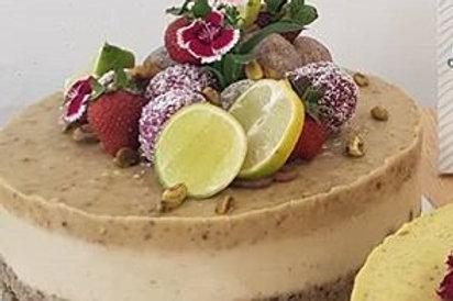 Pistachio & Lime Cheesecake