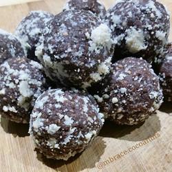 PEANUT BUTTER PROTEIN BALLS 💜😍👌 CocoaNuts vegan G