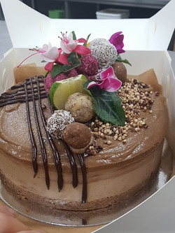 Mocha Raw cake