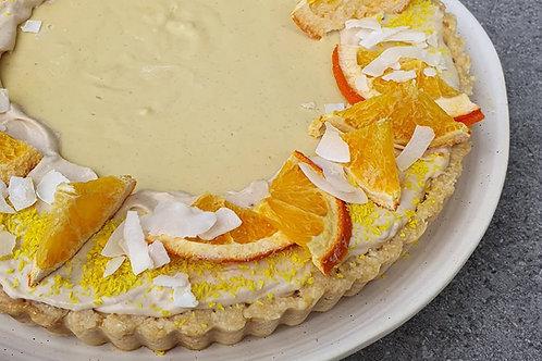 Citrus Tart (Sugar Free + Keto Friendly)