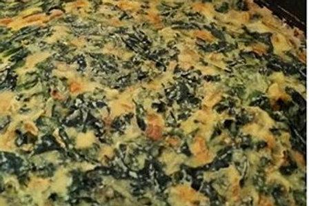 'Cheesy Kale Quiche (Vegan)