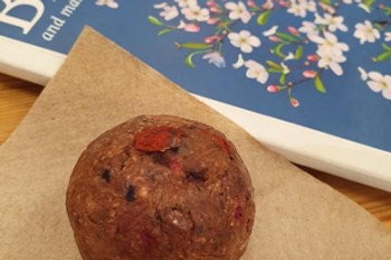 Hazelnut Berry Protein Ball *Sugar Free/ Keto*