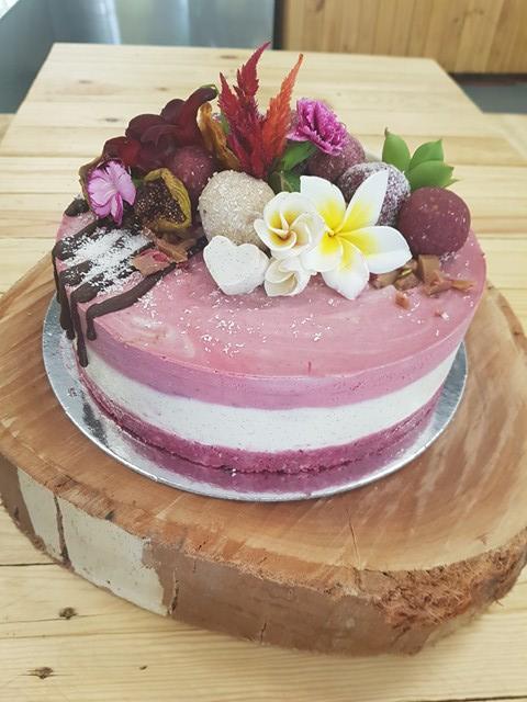 raw cake raspb WC