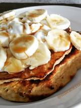Macadamia nut banana pancake #health #we