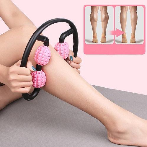 Pink full leg roller