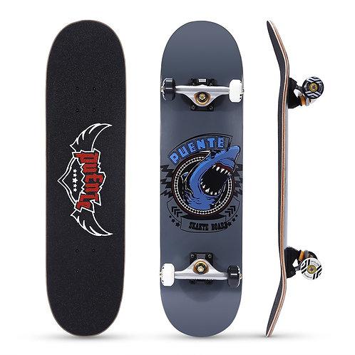 Flexible way skating board