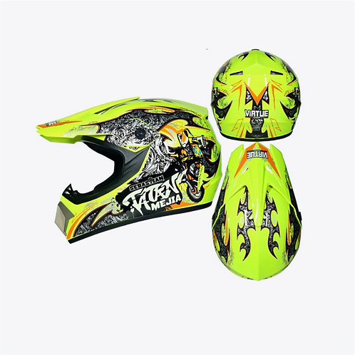 Off road angry Colors helmet