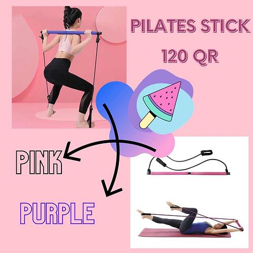 Pilates sticks in 120 QR