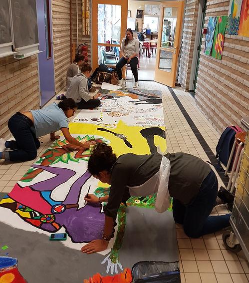 Students, ITEPS, Teacher, Art, Culture