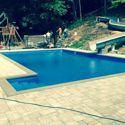 Pool electrical work done by us.