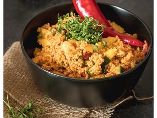 Pikanter Couscous Salat