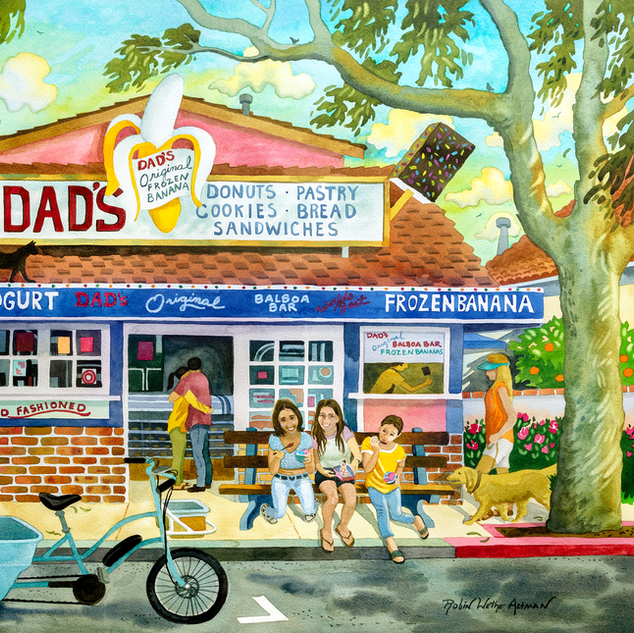 Dads Doughnuts Newport Beach California