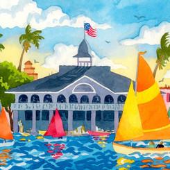 Pavillion at the Newport Harbor
