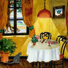 Quiet Table in the Corner