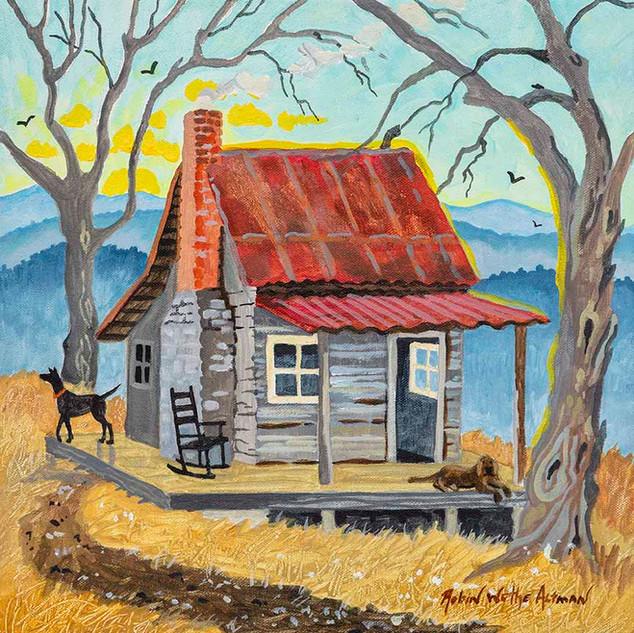 Appalachian Cabin Sunrise