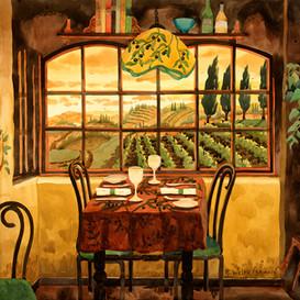 Romantic Dinner in Tuscany