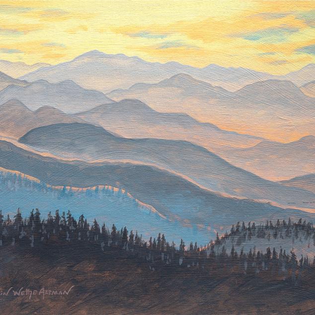 Appalachian Mountains in Winter