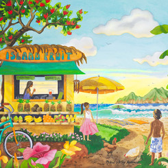 The Fruit Stand at the Beach