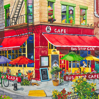 Bus Stop Cafe, New York