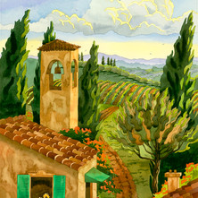 Tuscan Villiage