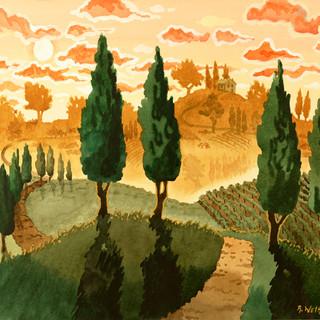 Tuscan Hilsides