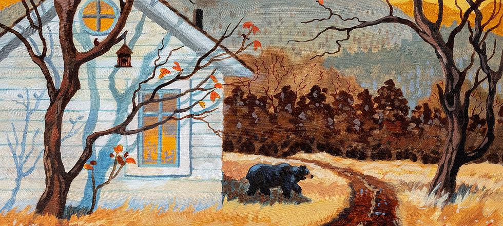Winter Visitor Bear Josh 12 x 16 300.jpg
