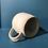 Thumbnail: Stoneware mug, large capacity