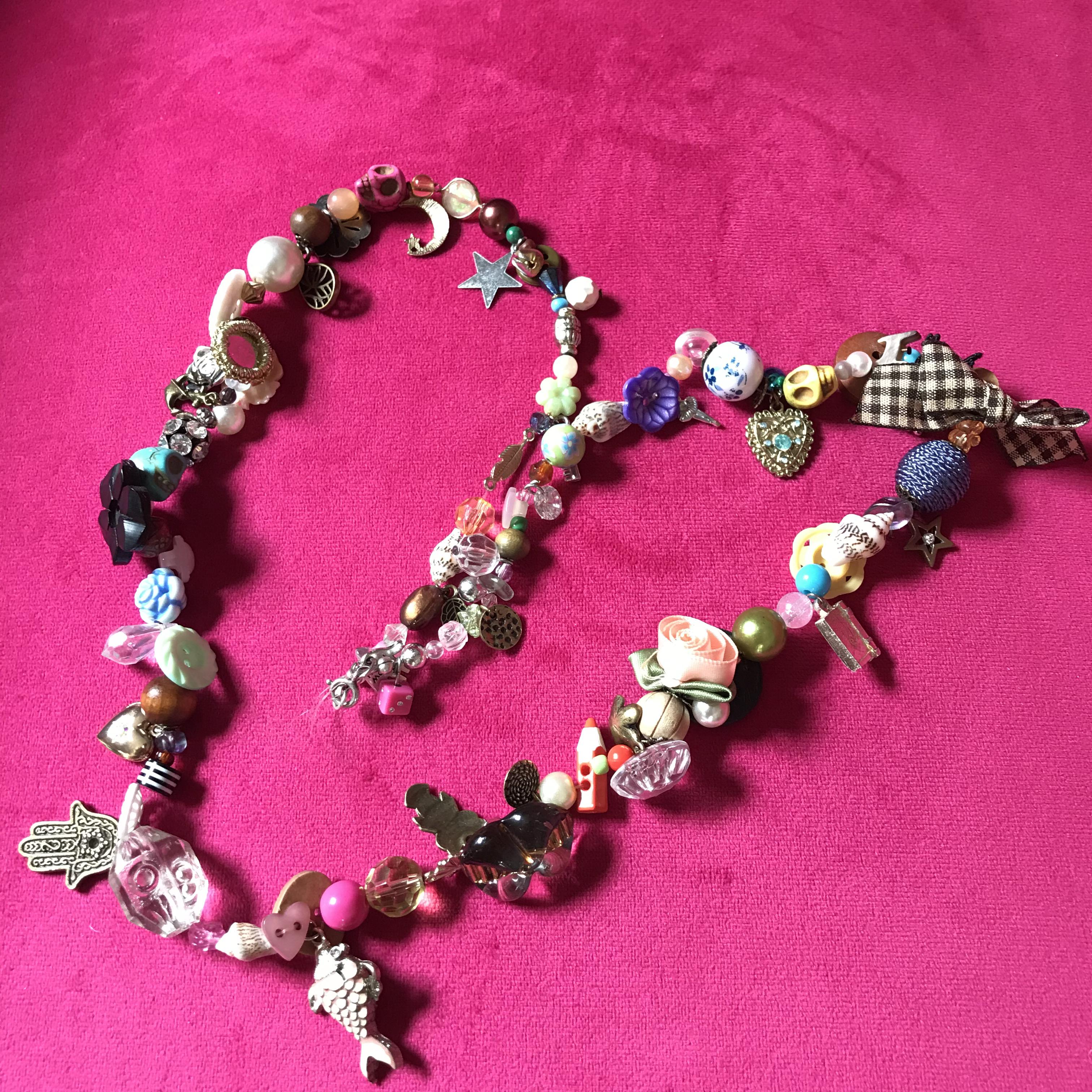 'Magpie' Necklace workshop  12-8-21