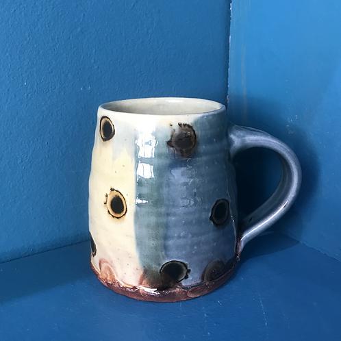 Russell Kingston Blue Mug