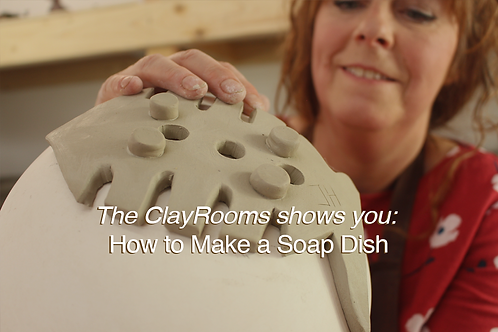 The ClayRooms shows you: How to Make a Soap Dish