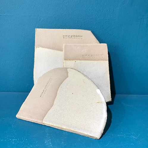 Stoneware Coaster or Butter Slab