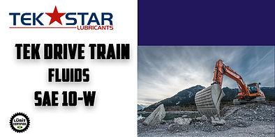 TEK DRIVE TRAIN FLUIDS SAE 10W WEB BUTTO