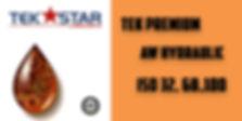 TEK PREMIUM AW HYDRAULIC ISO 32, 68, 100