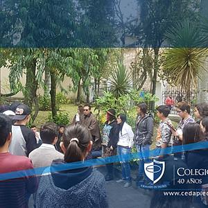 Salida Pedagógica Centro de Bogotá