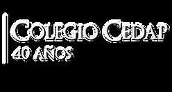 Logo CEDAP 40 años