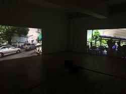 installation view in Osaka